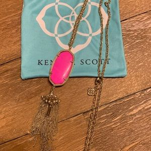 RARE Pink KS Rayne Necklace.